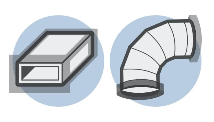Duct Sealing Illustration