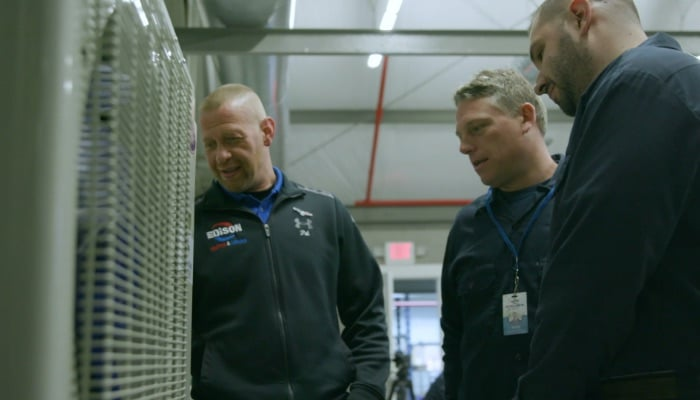 Edison Heating And Cooling Three Technicians
